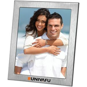 "Lecce - Brushed Metal Photo Frame (8""x10"")"